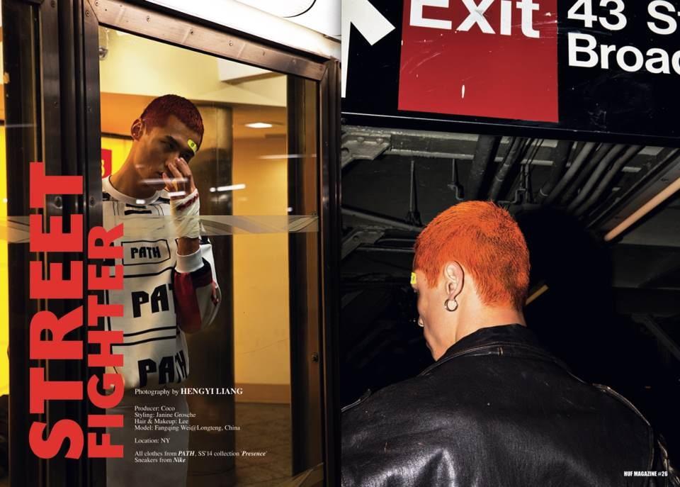 PATH, HUF Magazine, Janine Grosche, Menswear