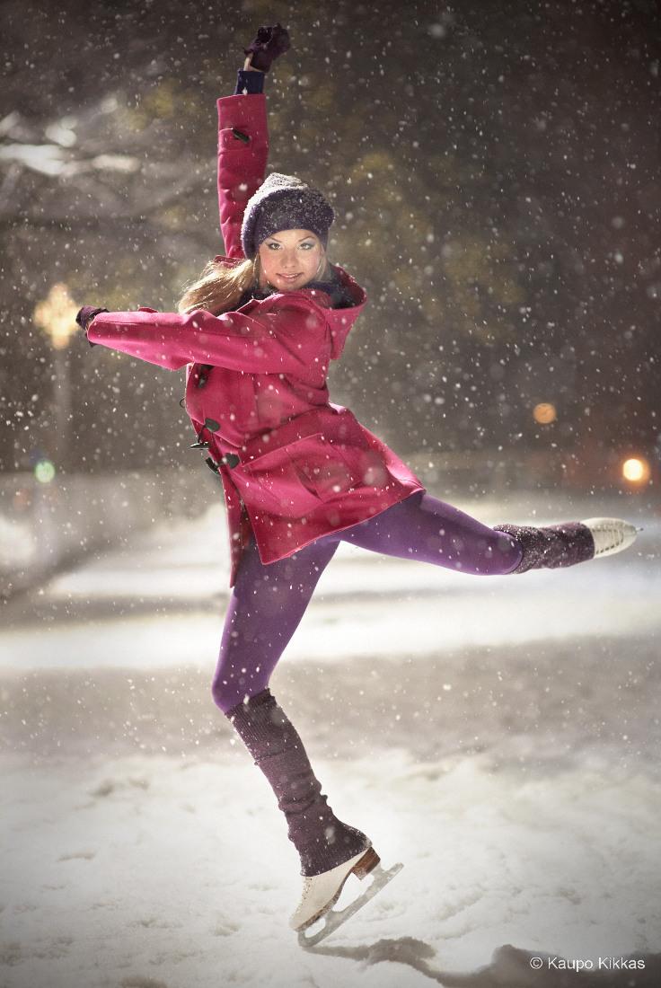 Figure skater Jelena Glebova
