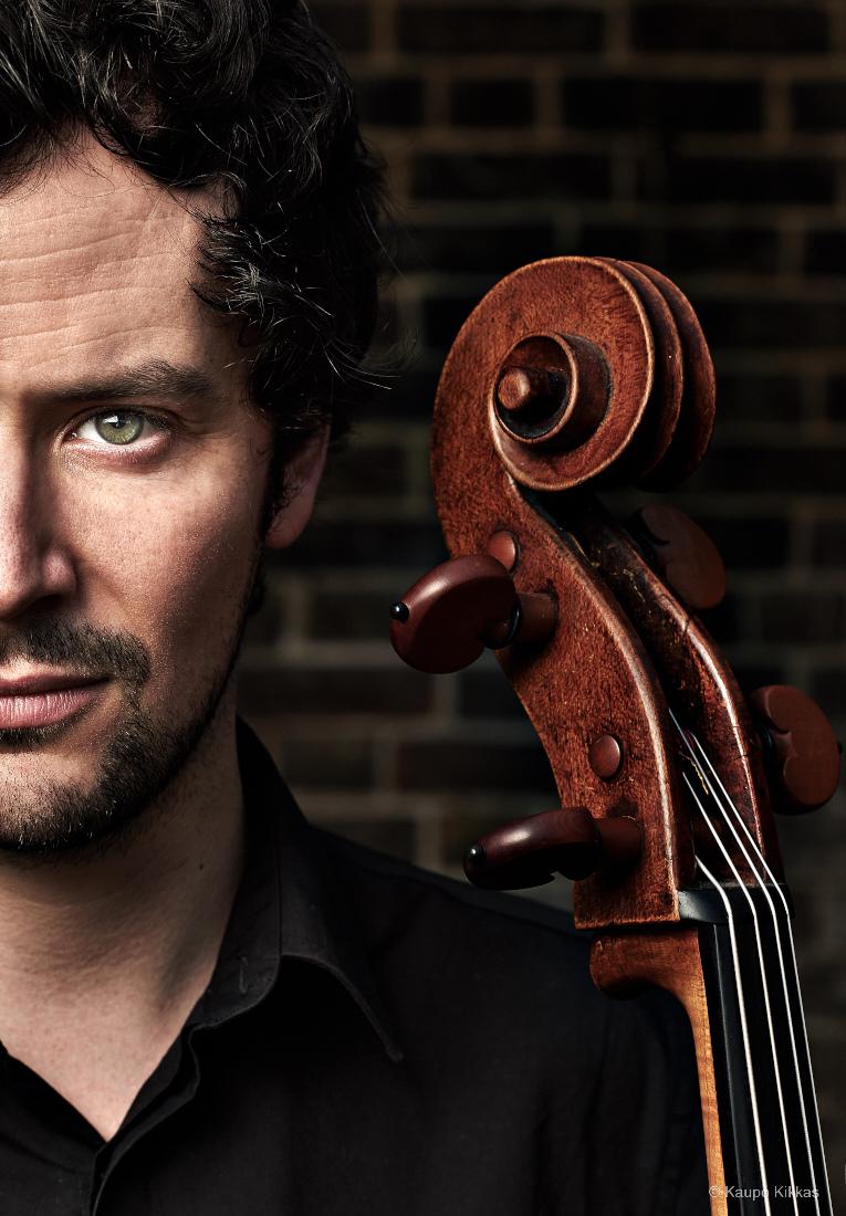 Cellist Brian O'Kane
