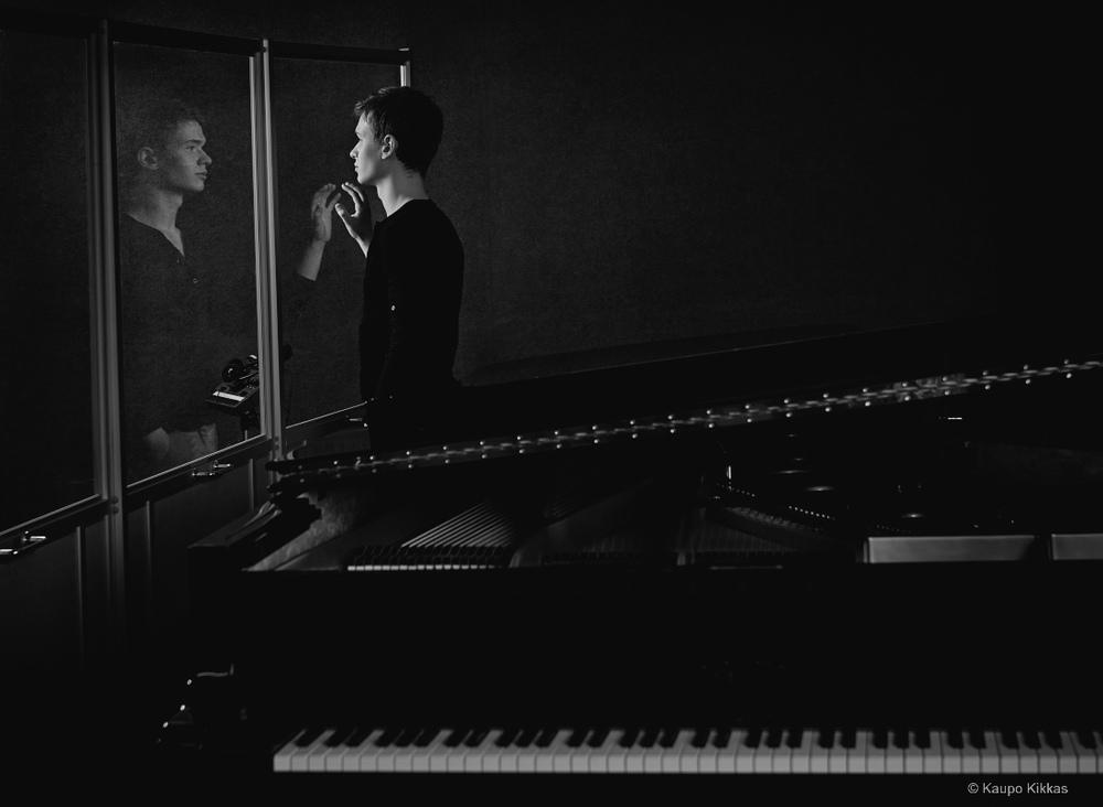Pianist Holger Marjamaa