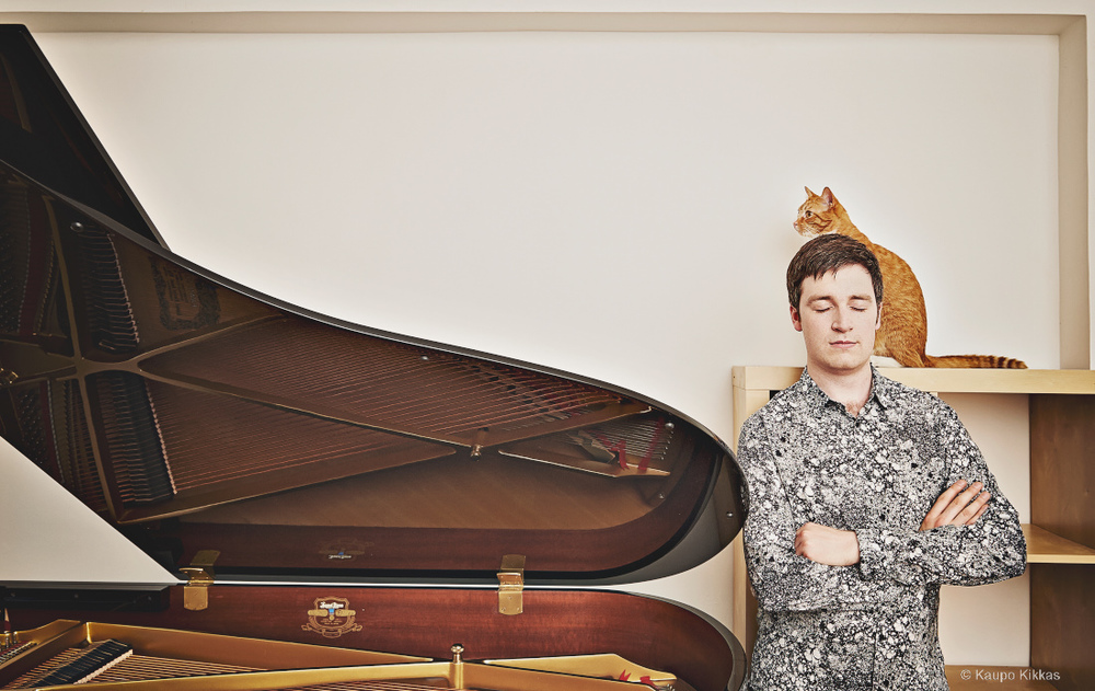 Pianist Richard Uttley