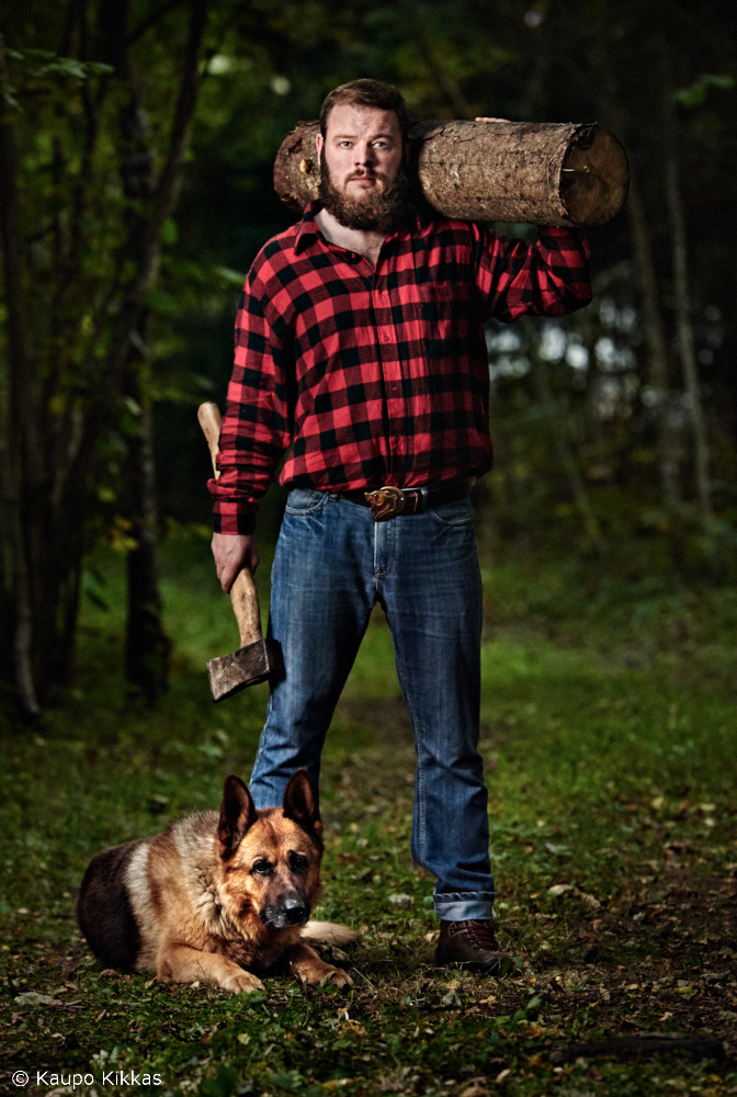 As a Lumbersexual