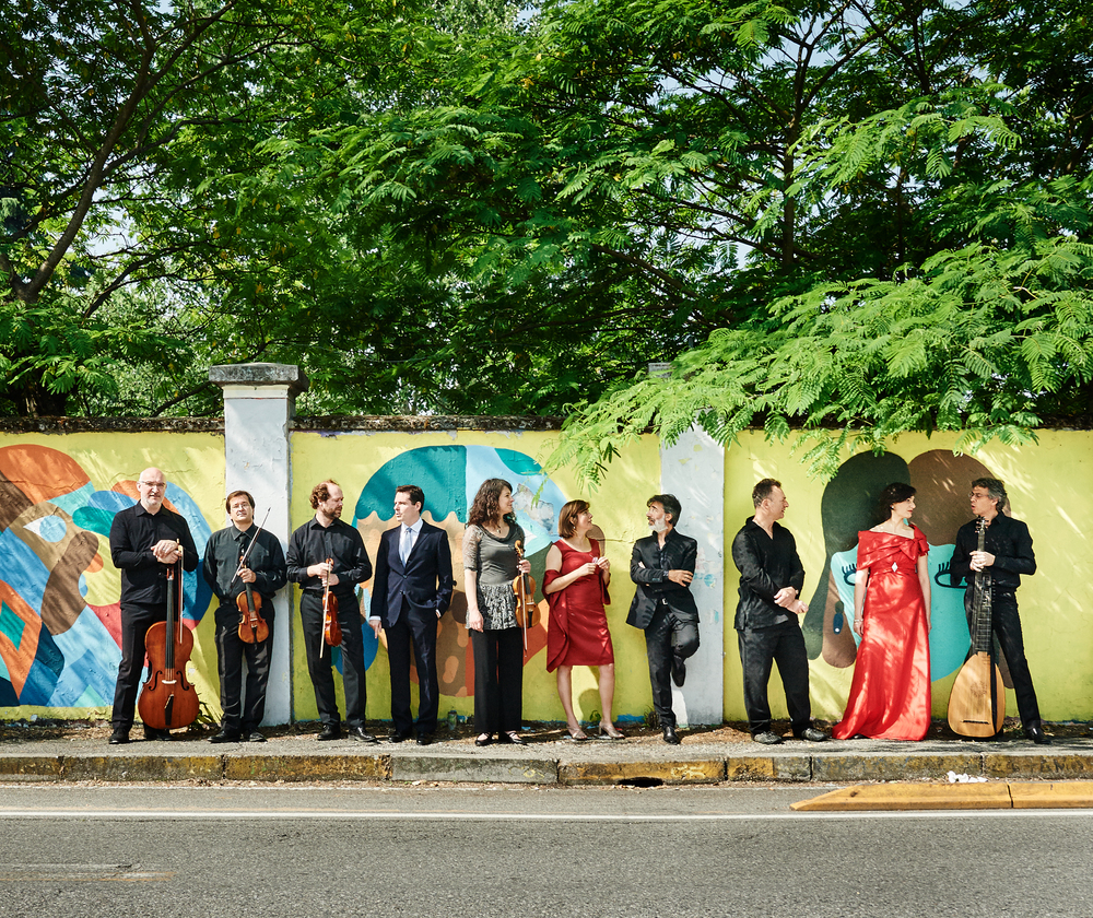 © Kaupo Kikkas. Vanamuusika ansambel La Venexiana värvide möllus.Nikon D5, 24-70mm ƒ11, 1/200, ISO 500