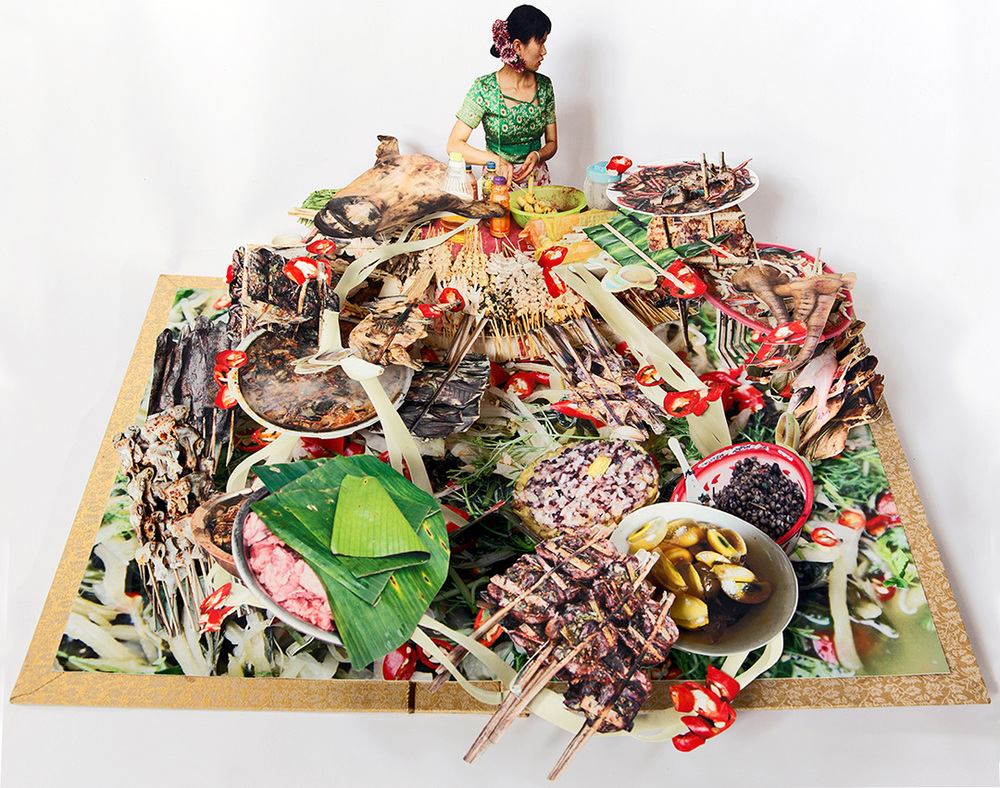 Dai Food Pop-up Book, from We are Tiger Dragon People我們是虎龍人