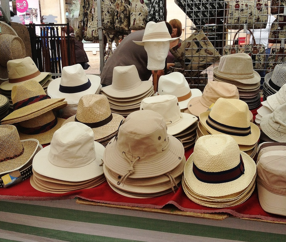 Hats for all.