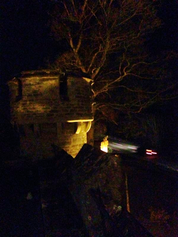 Back to our room and out onto the rooftop to see the castle by night, the subtle surrounding light bounces off the high stone walls. Bath Lodge Castle is a truly magical yet homely place, one we definitely intend to revisit.