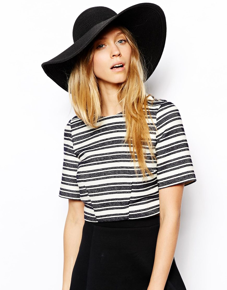 Wide-brimmed summer hat from ASOS, take your pick!