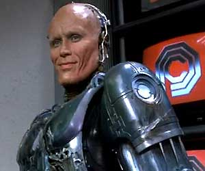 Call me Murphy: Peter Weller in Paul Verhoeven's  RoboCop  (1987).
