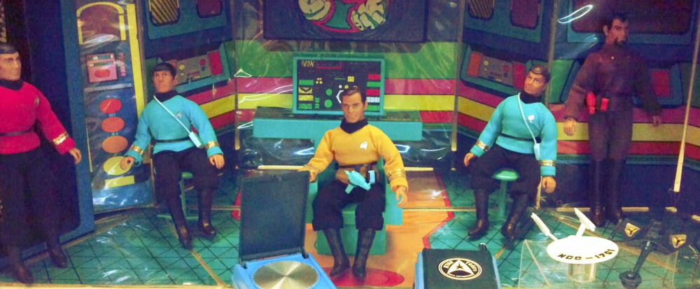 Star Trek  toys, circa 1966.