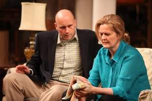 Larry Bull & Jordan Baker in the Humana Festival production of Branden Jacobs-Jenkins's  Appropriate.