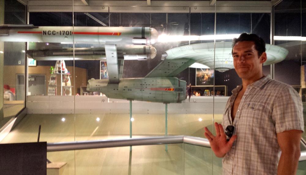 Enterprise and I.