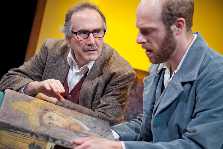 Lawrence Remond & Ryan Tumulty in Inventing Van Gogh. (C. Stanley Photography)