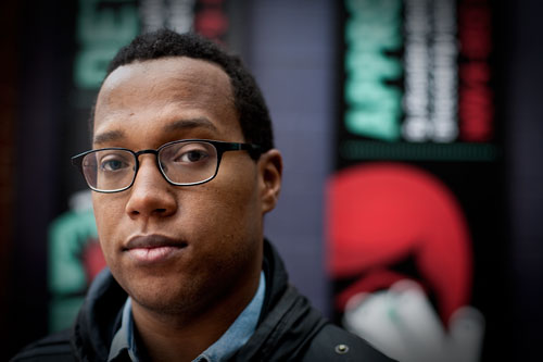 Playwright Branden Jacobs-Jenkins (Darrow Montgormery)