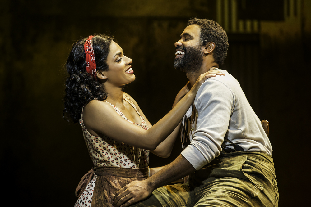 Bess, Porgy. Porgy, Bess. Alicia Hall Moran and Nathaniel Stampley.
