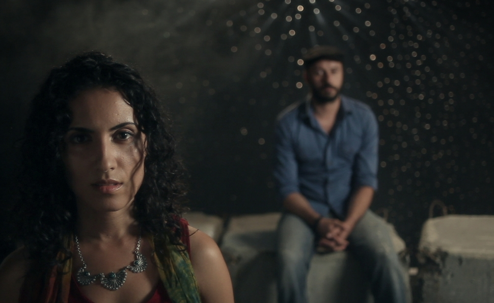 Haale Gafori and Ali Suliman in a surreal film inspired by the experiences of Hani Zurob.