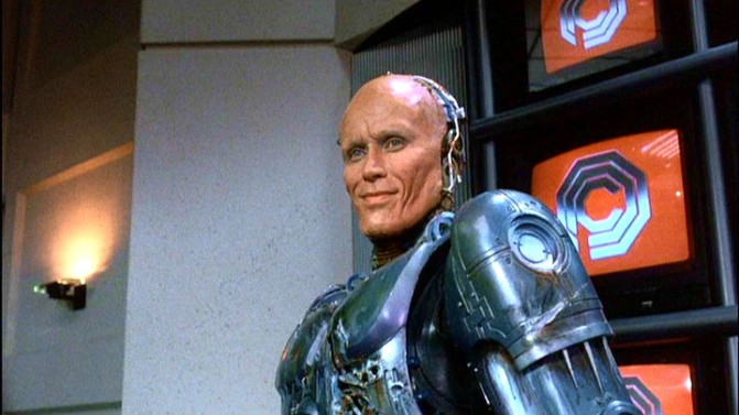 "Peter Weller in RoboCop '87: I will call you ""Murphy,"" and Murphy when you call me you can call me ""Al."""