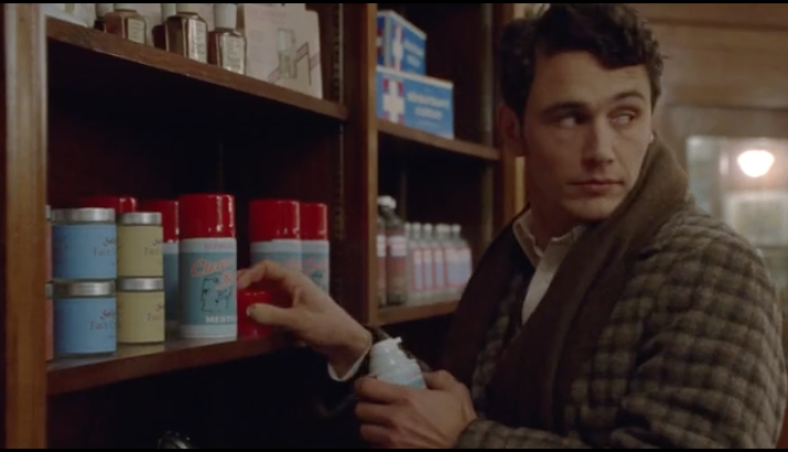 James Franco steals some shaving cream, and 97 minutes of your time, in  Maladies .