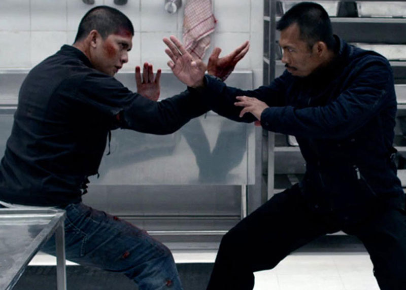 "Iko Uwais & Cecep Arif Rahman make it personal in ""The Raid 2."""