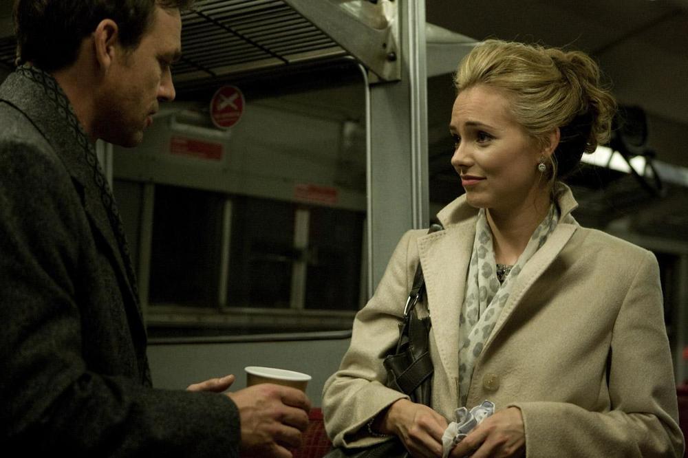 Dougray Scott and Kara Tointon in  Last Passenger.