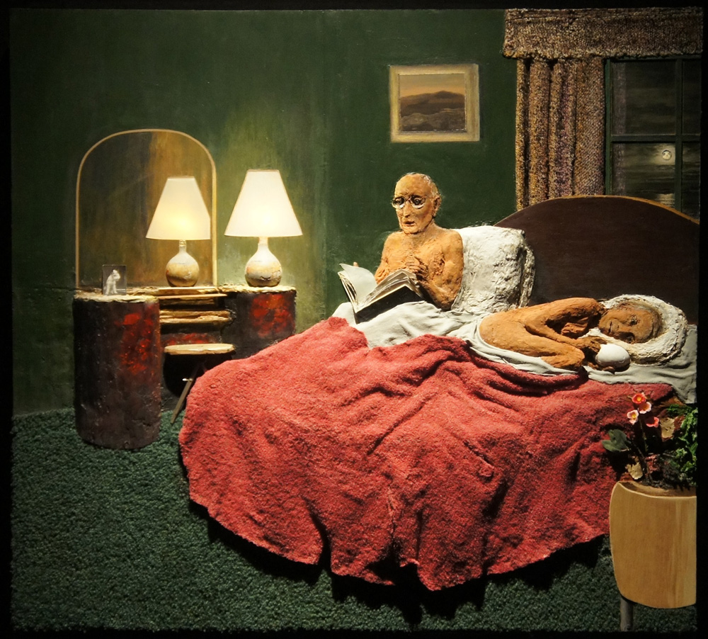 Llyn Foulkes' painting  The Awakening  (1994-2012).