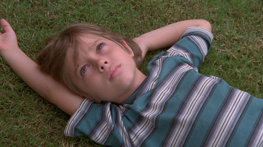 Ellar Coltrane in Richard Linklater's  Boyhood.