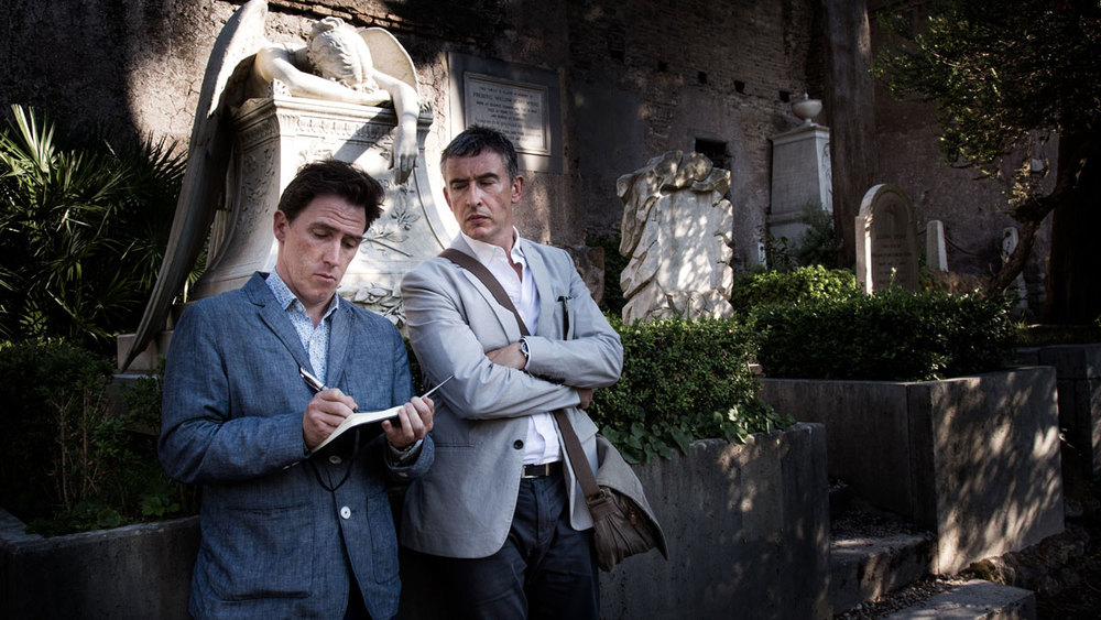 Rob Brydon & Steve Coogan reunite with Michael Winterbottom in  The Trip to Italy.