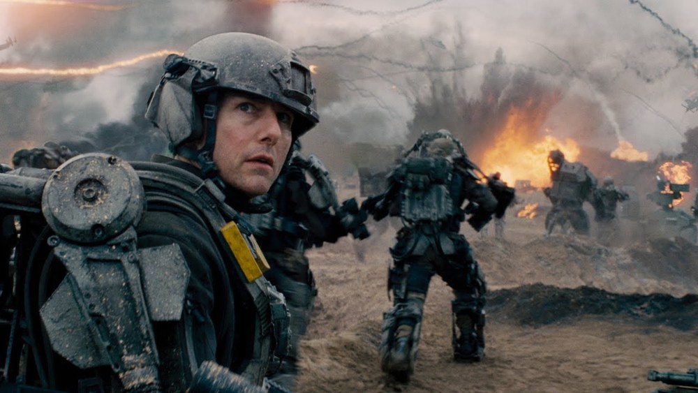 Tom Cruise in Doug Liman's  Edge of Tomorrow.