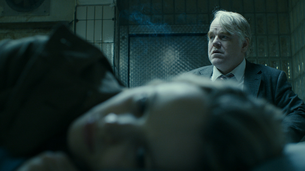 Rachel McAdams & the late Phillip Seymore Hoffman in Anton Corbijn's  A Most Wanted Man.