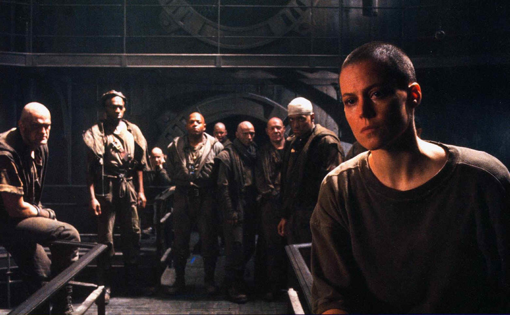 The ambitious but doomed  Alien 3,  for which Sigourney Weaver was persuaded to shave her head. The making-of documentary  Wreckage and Rage  from the Alien Quadrilogy Blu-ray set is better than the film itself.