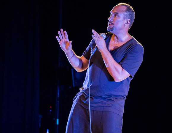 Roger Guenveur Smith performs his haunting and perceptive 65-minute monologue Rodney King.