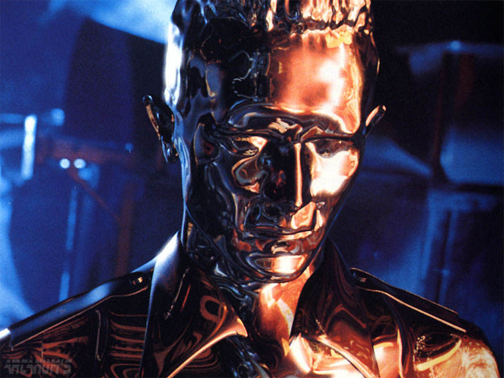 "The ""mimetic pollyalloy"" T-1000 in its natural habitat."