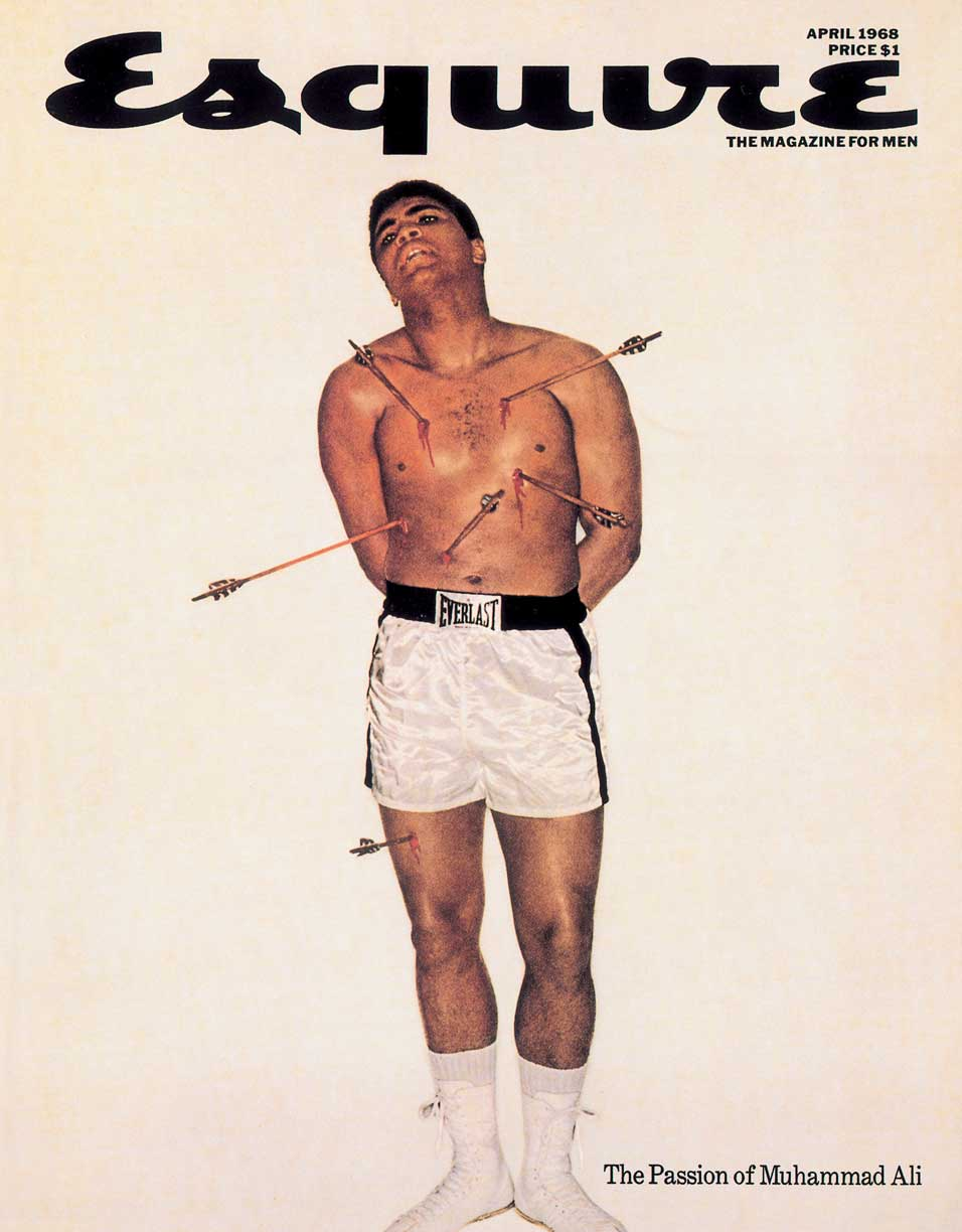"Muhammad Ali had to get Elijah Muhammad's permission to ""dress up"" as a Christian for this photo shoot."