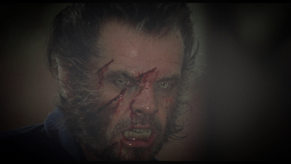 Jack Nicholson in Mike Nichols'  Wolf  in 1994.  Wolves  is not as good.