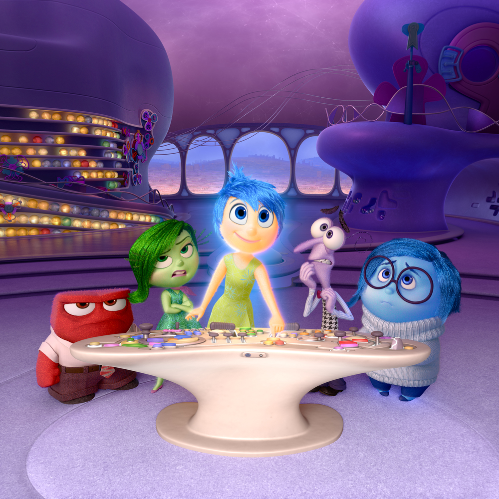 Pixar's  Inside Out  gives physical form to one girl's Anger (Lewis Black), Disgust (Mindy Kaling), Joy (Amy Poehler), Fear (Bill Hader) and Sadness (Phyllis Smith). The first trailer was sexist and lame, but trailers ain't movies.