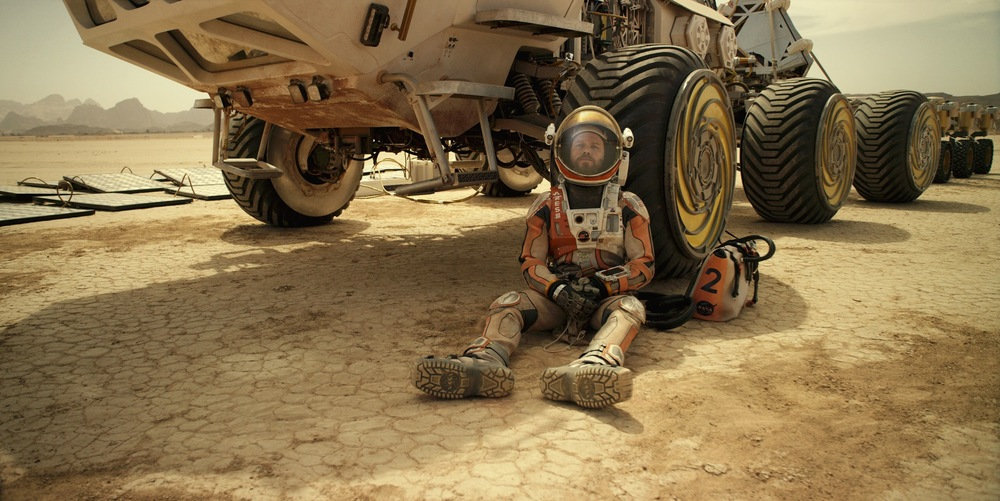 Matt Damon goes native in  The Martian.  (20th Century Fox)