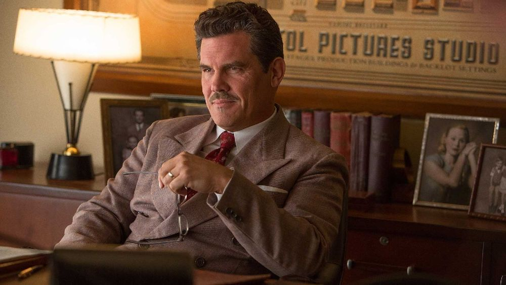 Josh Brolin as an Eddie Mannix who only superficially resembles the historical Eddie Mannix.
