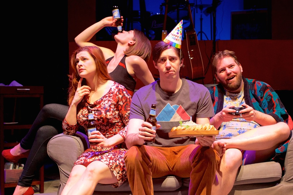 Suzanne Edgar, Farrell Parker, Vaughn Irving, and Doug Wilder (Ryan Maxwell Photography)