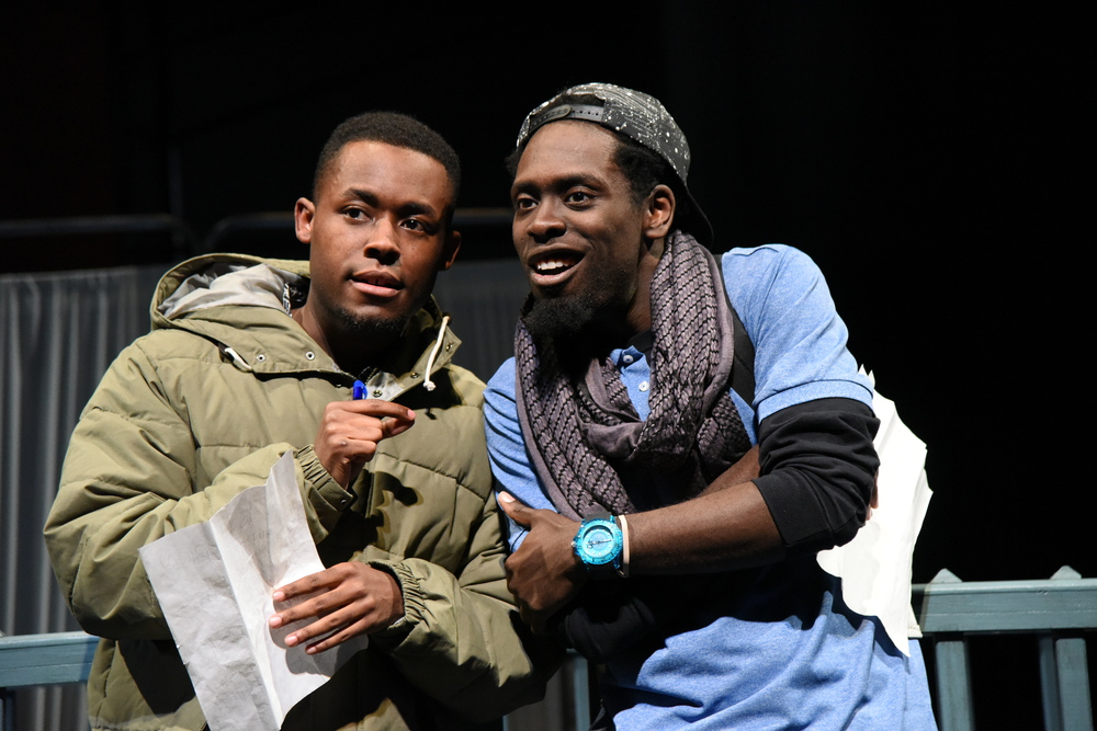 Vaughn Ryan Midder and Jeremy Keith Hunter in  When January Feels Like Summer.  (Stan Barouh)