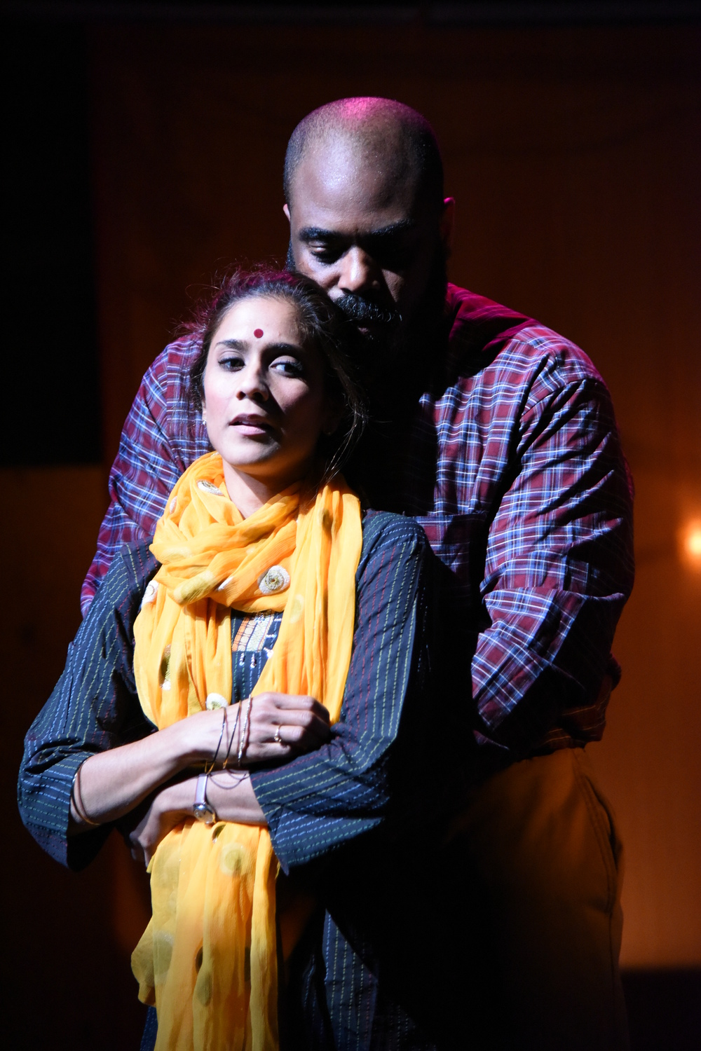 Lynette Rathnam and Jason B. McIntosh in  When January Feels Like Summer.  (Stan Barouh)