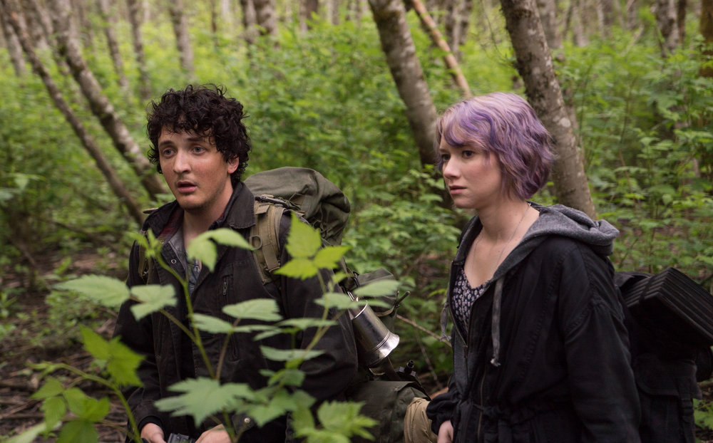 Wes Robinson and Valorie Curry in Blair Witch.
