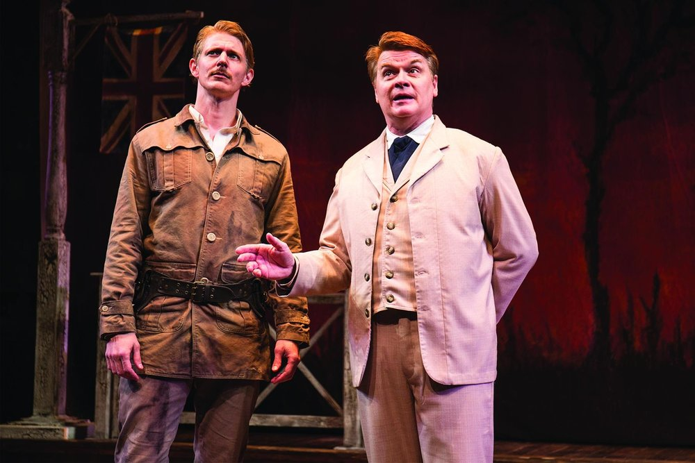 Christian Pedersen and John Scherer in Studio Theatre's  Cloud 9. (Amy Horan).