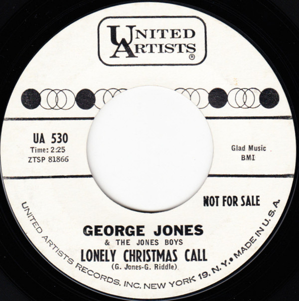 George Jones - Lonely Christmas Call.jpg