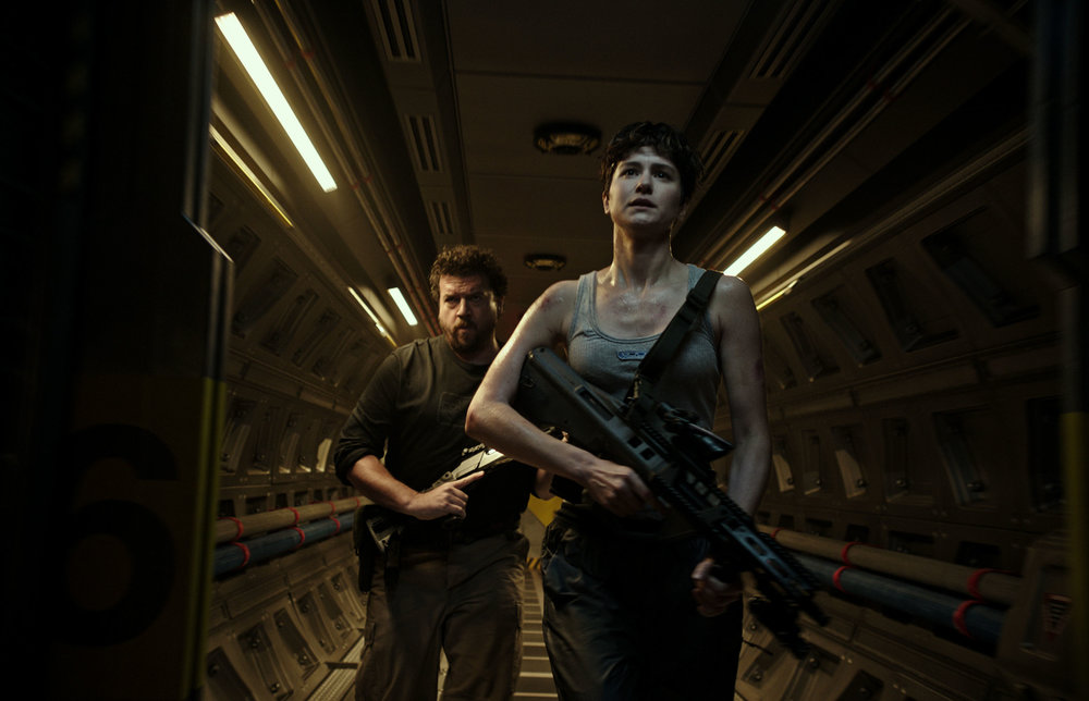 Danny McBride and Katherine Waterston hunt the hunter in  Alien: Covenant.  (Fox)