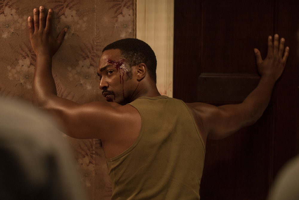 Anthony Mackie plays Robert Greene, a Vietnam veteran assaulted by police in  Detroit .