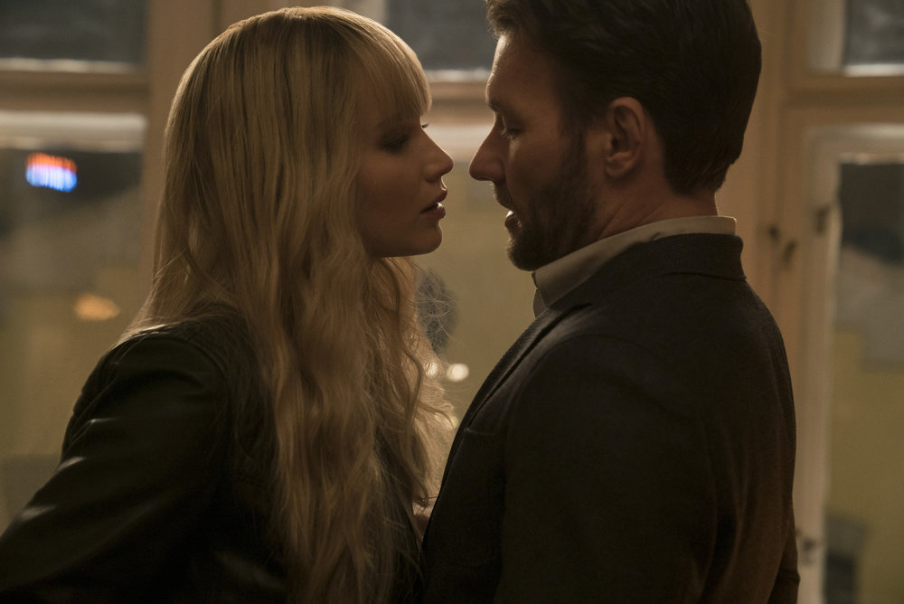 J-Law and Joel Edgerton make love and also war.