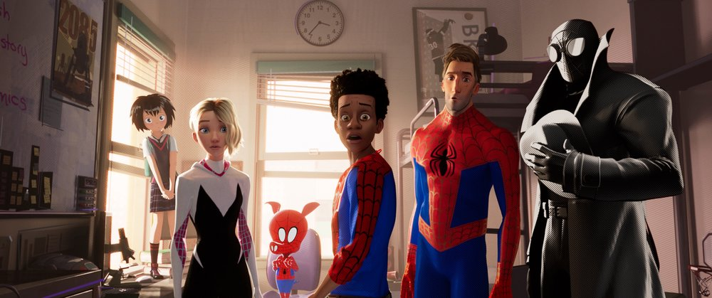 It takes all kinds of spider-beings to make a spider-verse. (Sony)