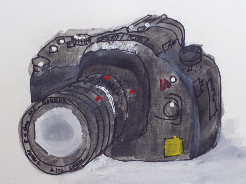 Camera technology guache