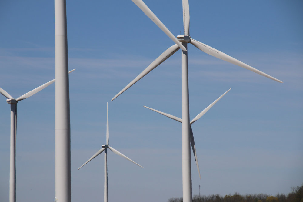Wind Farm Near Strathroy-Caradoc, Ontario. Photo: Corey Seeman via flickr.