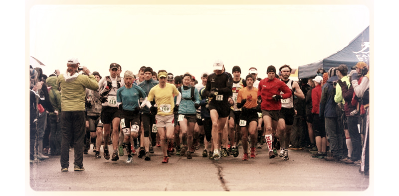 Start of the Chuckanut 50k in 2012.