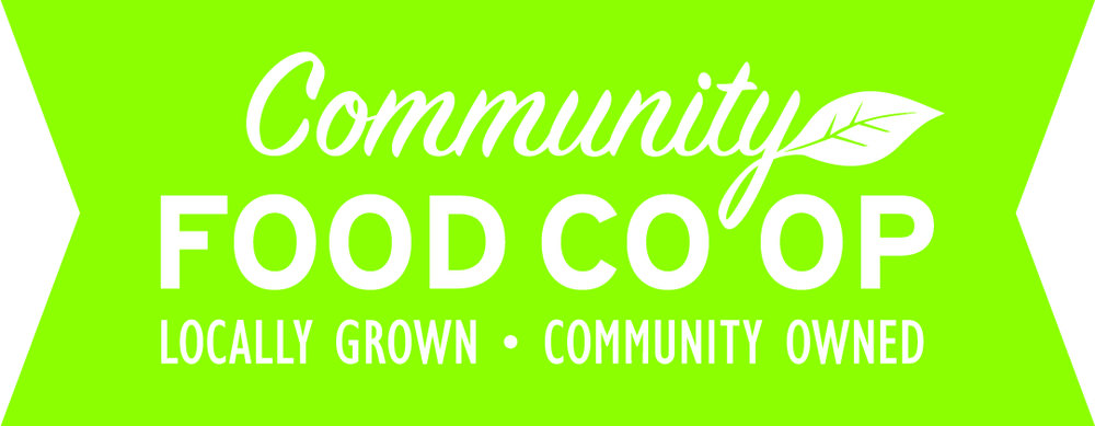 The Community Food CoOp supports us by discounting our race supply order.